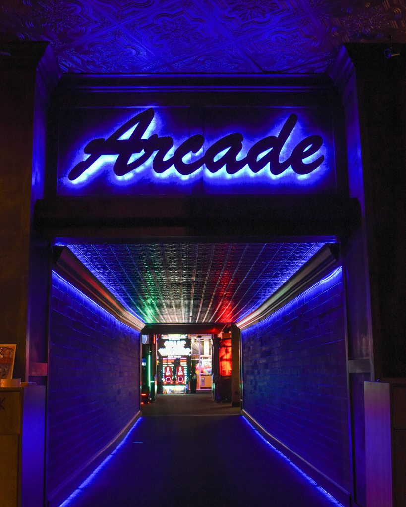 Welcome to publishing.... picture of an arcade.